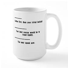Tread Lightly Mug