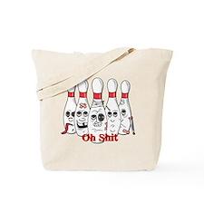 Bowling pins Tote Bag