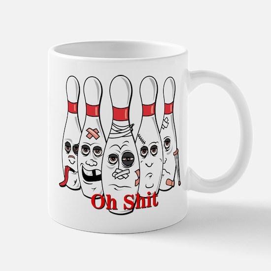 Bowling pins Mug