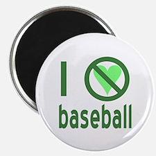 I Hate Baseball Magnet