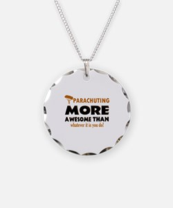 Awesome Parachute designs Necklace