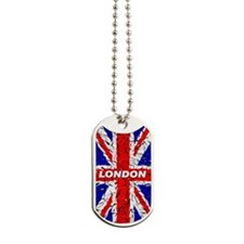 Awesome British Flag Dog Tags