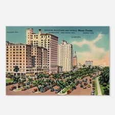 Miami Florida Postcards (Package of 8)