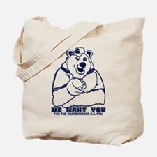 We Want YOU!!! Tote Bag
