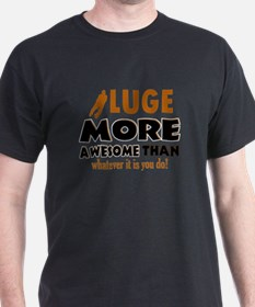 Awesome luge designs T-Shirt