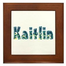 Kaitlin Under Sea Framed Tile