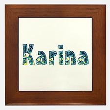 Karina Under Sea Framed Tile