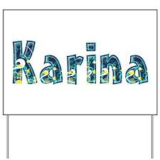 Karina Under Sea Yard Sign