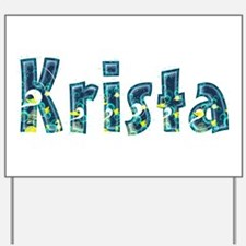 Krista Under Sea Yard Sign