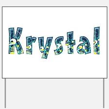 Krystal Under Sea Yard Sign
