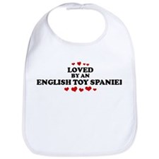 Loved: English Toy Spaniel Bib