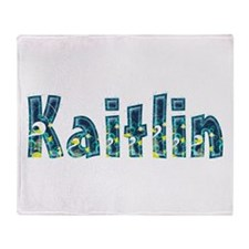 Kaitlin Under Sea Throw Blanket