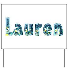 Lauren Under Sea Yard Sign