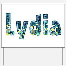 Lydia Under Sea Yard Sign