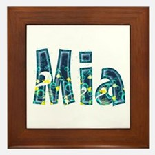 Mia Under Sea Framed Tile