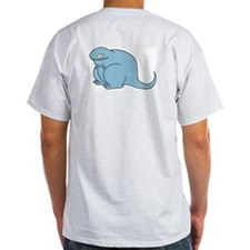 Happy Todd Ash Grey T-Shirt