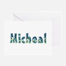 Micheal Under Sea Greeting Card