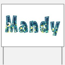 Mandy Under Sea Yard Sign