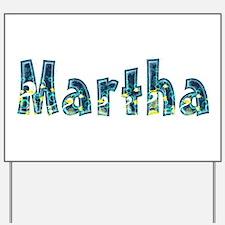 Martha Under Sea Yard Sign