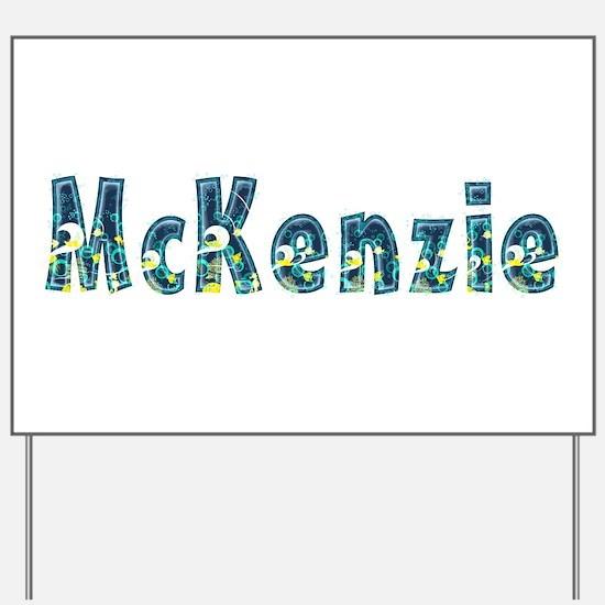 McKenzie Under Sea Yard Sign