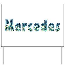 Mercedes Under Sea Yard Sign