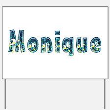 Monique Under Sea Yard Sign