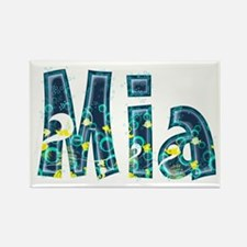 Mia Under Sea Rectangle Magnet 100 Pack