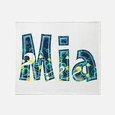 Mia Under Sea Throw Blanket