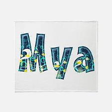 Mya Under Sea Throw Blanket