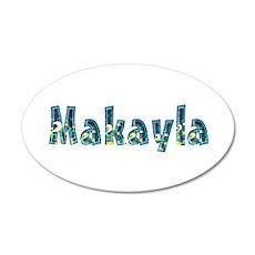 Makayla Under Sea 20x12 Oval Wall Decal