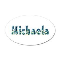 Michaela Under Sea 20x12 Oval Wall Decal