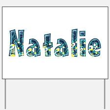 Natalie Under Sea Yard Sign