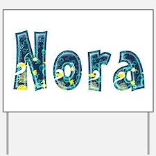 Nora Under Sea Yard Sign