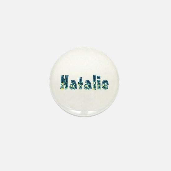 Natalie Under Sea Mini Button