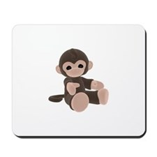 Brown Monkey Mousepad