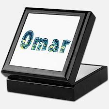 Omar Under Sea Keepsake Box