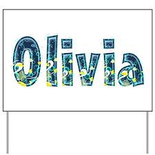 Olivia Under Sea Yard Sign