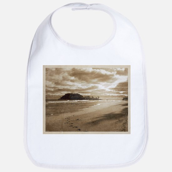 Footsteps In The Sand Bib