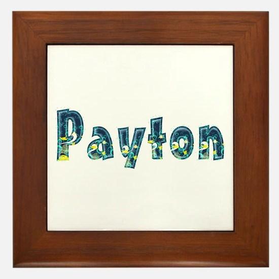 Payton Under Sea Framed Tile