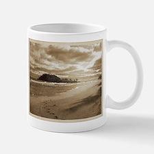 Footsteps In The Sand Mug