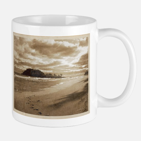 Footsteps In The Sand Mug