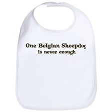 One Belgian Sheepdog Bib