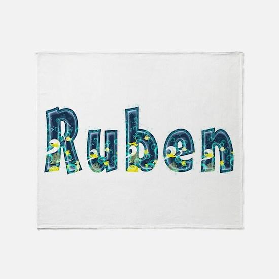Ruben Under Sea Throw Blanket