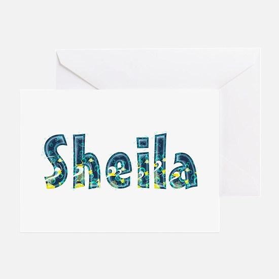 Sheila Under Sea Greeting Card