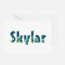 Skylar Under Sea Greeting Card