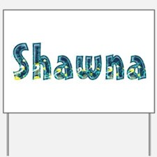 Shawna Under Sea Yard Sign