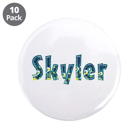 Skyler Under Sea Big Button 10 Pack