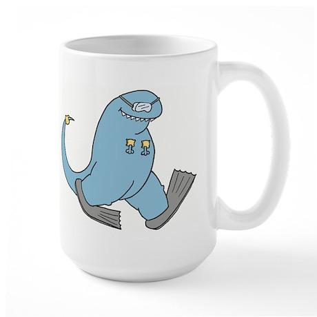 Scuba Todd Large Mug