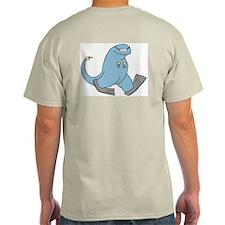 Scuba Todd Ash Grey T-Shirt