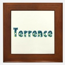 Terrence Under Sea Framed Tile